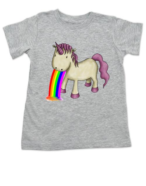 0ea324c3a ... Unicorn Rainbow Vomit toddler shirt, funny unicorn toddler shirt,  badass unicorn kid t-