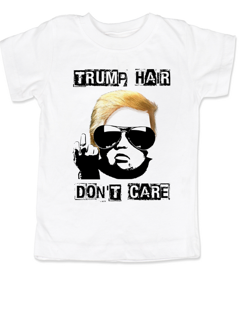 Donald Trump hair toddler shirt, Political toddler shirt, Make my diaper great again, Make America Great Again toddler shirt, 2016 Election toddler t-shirt, Political baby, Future Republican, white