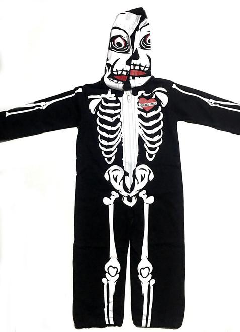 toddler skeleton jumpsuit halloween skeleton suit for toddlers skeleton jumpsuit with hood vulgar