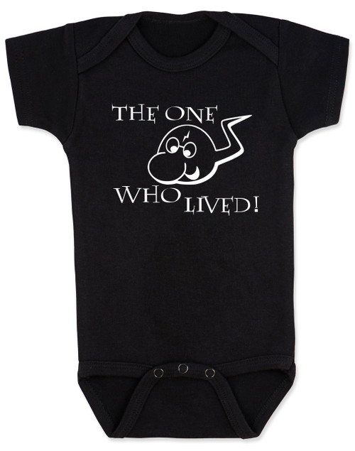 3025cd4a4 ... the boy who lived baby Bodysuit, funny harry potter baby Bodysuit, baby  gift for