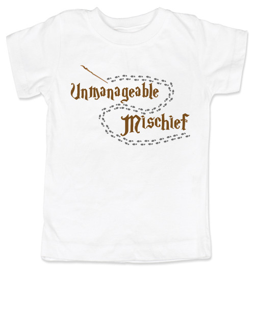 Unmanageable Mischief Harry Potter Toddler Shirt