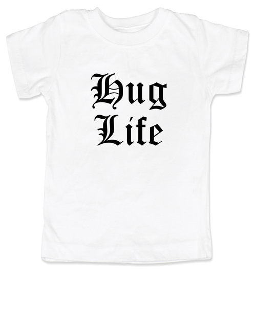 7e9a9073 Hug Life toddler shirt, white
