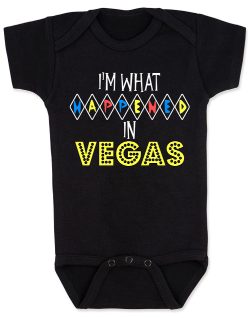 I'm what happened in Vegas, What happens in Vegas baby Bodysuit, funny Vegas baby bodysuit, What happens in Vegas stays in Vegas, Vegas baby gift