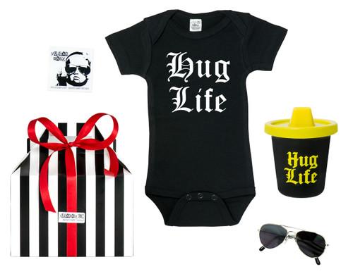 0ca8eb12cb26c hug life baby gift, thug life baby, thug life toddler, hug life gift