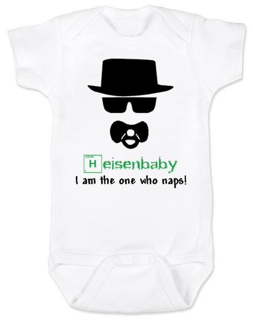 Breaking Bad Baby Bodysuit, HeisenBaby, I am the one who naps, Heisenburg, Badass baby, Breaking Dad