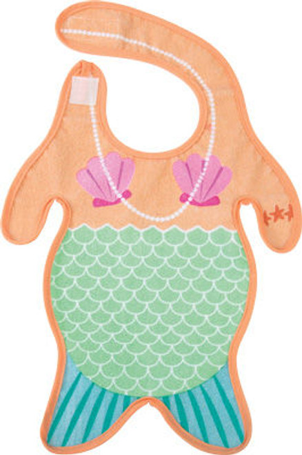 Mermaid baby bib, funny mermaid bib, mermaid body baby bib, baby mermaid, under the sea baby gift, novelty baby girl gift, little mermaid baby bib, merbaby bib, cool baby gift for girl, merbaby gift