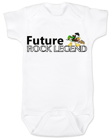 Future Rock Legend Personalized Baby Bodysuit, Rock N Roll baby Onsie, Rock and Roll, Musician parents, guitar player, Rock music, Rocker baby, Band Bodysuit