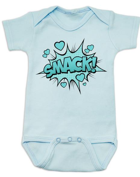 SMACK baby Bodysuit, blue