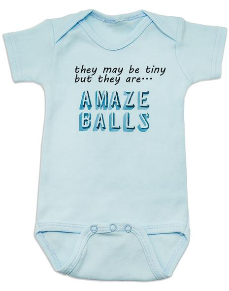 Amazeballs Baby Bodysuit