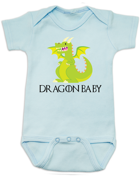 Dragon Baby baby Bodysuit, GOT, Little Dragon, poop is coming, little lanister, House Targaryen, Game of Thrones Onsie, blue