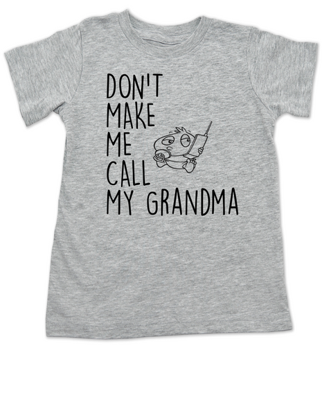 Toddler//Kids Short Sleeve T-Shirt My Grandpa in Iowa Loves Me