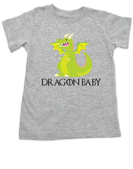 poop is coming, Dragon baby toddler shirt, GOT kid, Little Dragon baby, little lannister, House Targaryen toddler shirt, Game of Thrones toddler t-shirt, grey