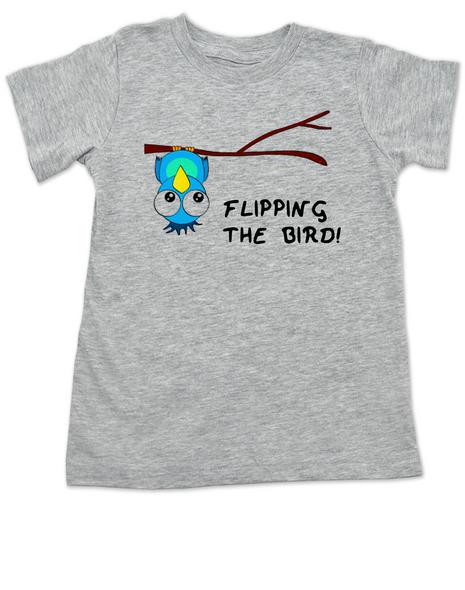 Flipping The Bird Toddler Shirt