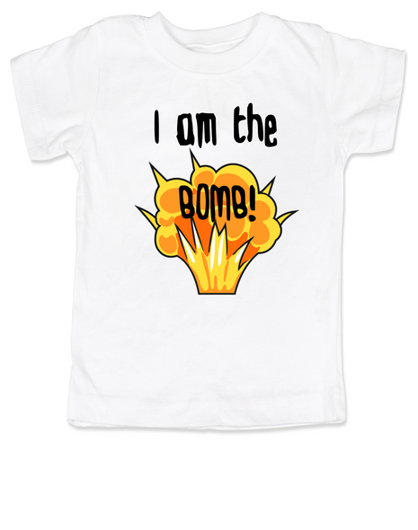 I am the bomb toddler shirt, I'm the bomb toddler t-shirt, Bomb ass kid