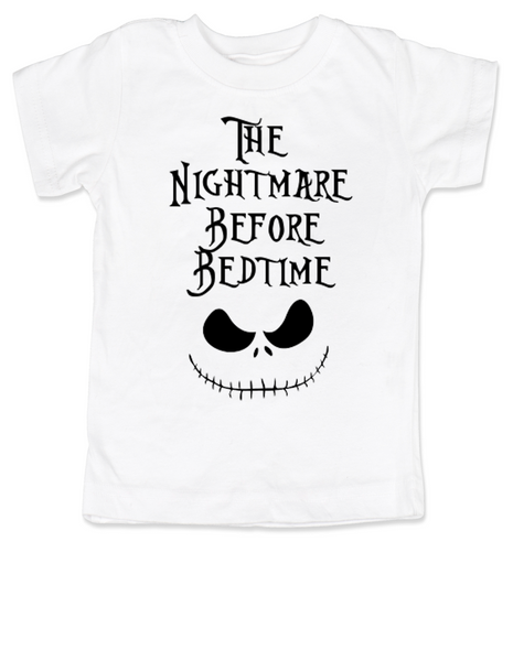Nightmare before bedtime toddler shirt, nightmare before christmas, jack the pumpkin king