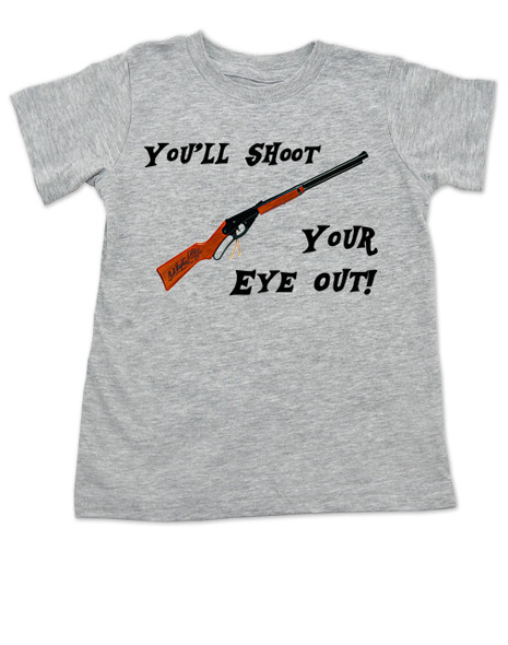 Christmas Story Movie toddler shirt, You'll Shoot Your Eye Out, A Christmas Story kid shirt, red rider bb gun shirt, ralphy christmas story toddler shirt, funny toddler christmas shirt