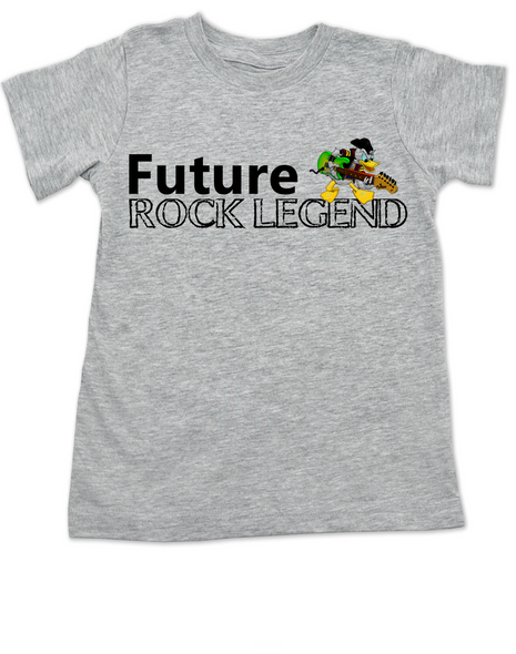 Future Rock Legend Personalized toddler shirt, Rock N Roll toddler t-shirt, Rock and Roll, Musician parents, guitar player, Rock music, Rocker kid, Band toddler shirt, grey