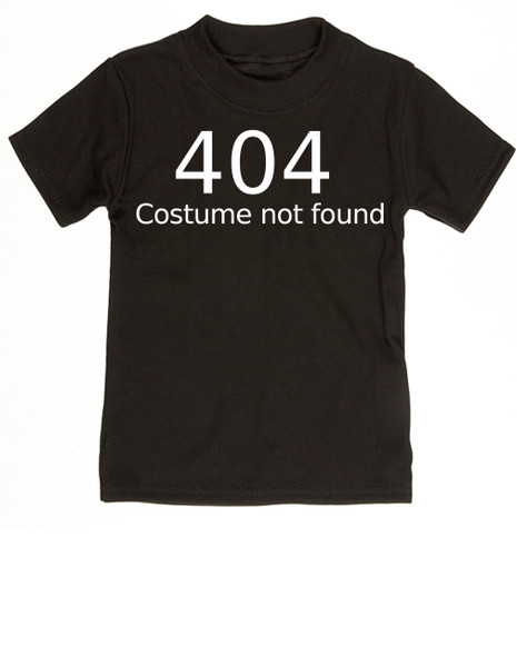 404 error costume not found baby onesie, child 404 costume not found, computer error, Geeky Halloween baby onesie, Nerdy baby halloween onsie