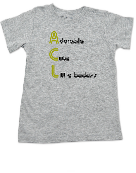 ACL Festival toddler shirt, Austin City Limits Music Festival, kid's first concert, rock and roll kid, Austin music scene toddler shirt, kid or toddler gift for Musician parents, grey