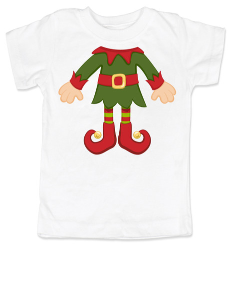 Elf Body Christmas toddler shirt, Little bodies toddler t-shirt, Santas little elf, Christmas party kid t shirt, cute funny christmas kid clothes, santas helper, Elf kid, white