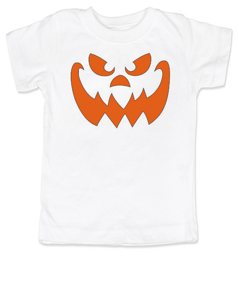 Halloween toddler shirt, Jack-O-toddler shirt, Jack-o-lantern toddler shirt, Pumpkin face toddler t-shirt, Halloween kid tee, Pumpkin Face toddler shirt, Halloween toddler shirt, Pumpkin kid tee, Unique Halloween shirt, halloween pumpkin toddler shirt, white