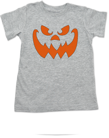 Halloween toddler shirt, Jack-O-toddler shirt, Jack-o-lantern toddler shirt, Pumpkin face toddler t-shirt, Halloween kid tee, Pumpkin Face toddler shirt, Halloween toddler shirt, Pumpkin kid tee, Unique Halloween shirt, halloween pumpkin toddler shirt, grey