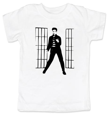 Elvis Presley jailhouse rock, Jailhouse Rock toddler shirt, elvis kid shirt, classic rock and roll toddler shirt, Elvis dancing toddler t-shirt