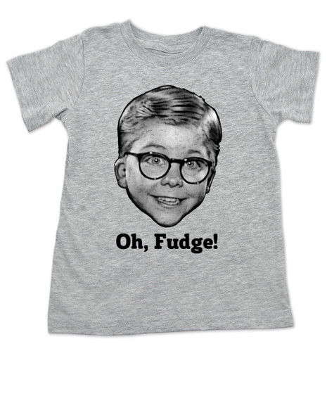 A Christmas Story toddler shirt, Oh Fudge, Ralphie toddler shirt, Soap Poisoning, Red Rider BB Gun, funny Christmas movie toddler t-shirt