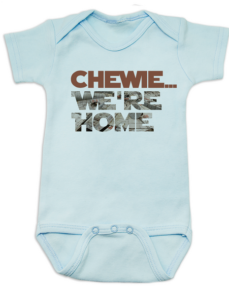 Chewbacca baby Bodysuit, chewie we're home baby, Han Solo Baby Bodysuit, Star Wars Onsie, Little Smuggler, Wookie, Millennium Falcon, Young Jedi, The force is strong with this one, Who's Scruffy Looking?, Blue