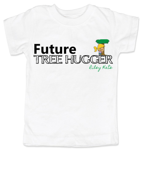 Future Tree Hugger Toddler Shirt, Future Hippie, Future Conservationist, Future Animal Activist, tree hugging kids, personalized hippie kid shirt
