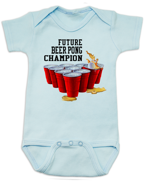 Future Beer Pong Champion Baby Bodysuit