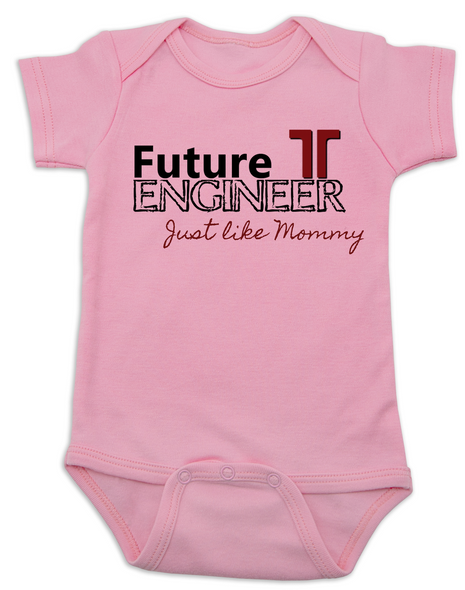 Future Engineer, Engineer Daddy, Engineer Mommy, Terracon baby Bodysuit, Engineer baby, Engineer like mommy