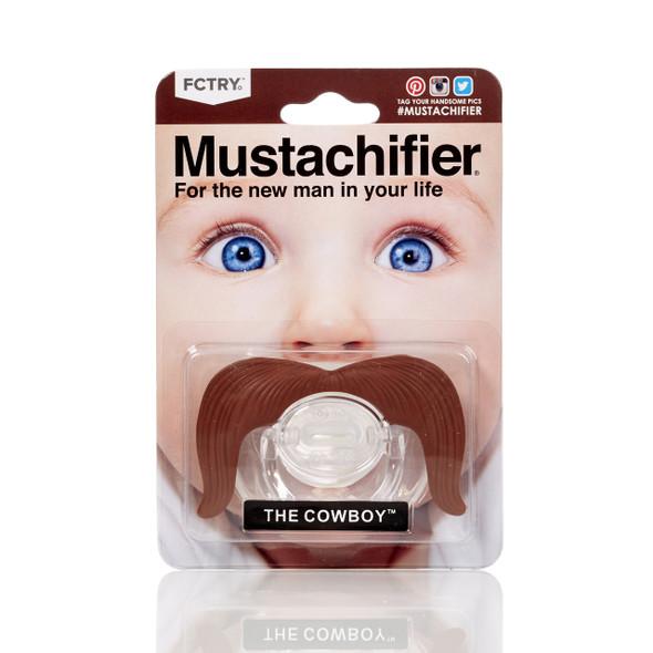Binky box gift set, Mustachifier, mustache pacifier, funny gift set for baby boy