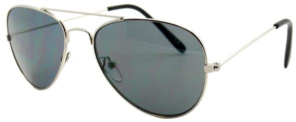vulgar baby sunglasses, toddler aviator sunglasses, cool kid sunglasses, official vulgar baby glasses, silver metal aviator childrens sunglasses, baby pilot aviator glasses, side view