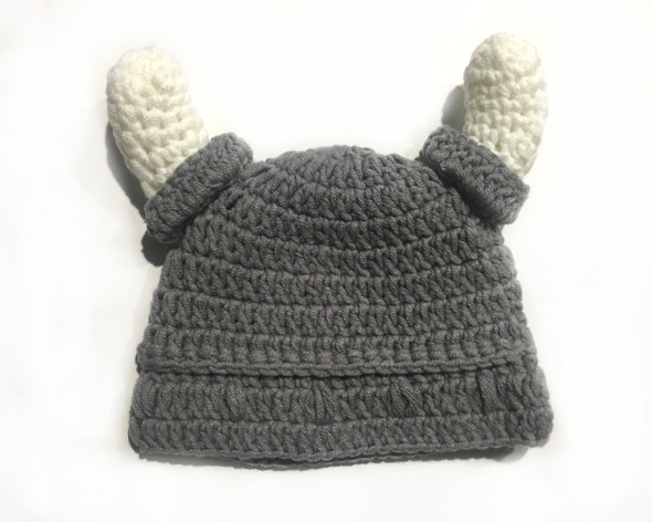 Crochet Viking Hat, Baby crochet viking hat, Tiny Viking, Future viking hat, my daddy is a viking