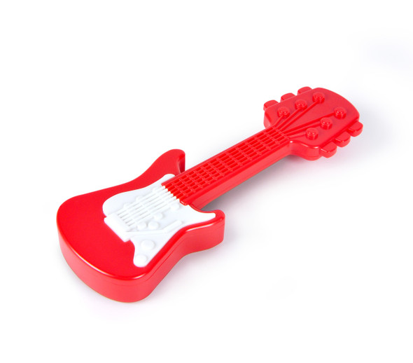 Guitar baby rattle, Rattle Axe, rock and roll baby toys, music baby shower gift, electric guitar baby toy, guitar baby rattle axe, Musician parents, fred baby rattle, novelty baby gift, rock and roll baby shower, new parents who are in a band, funny new parent gift, amp volume knob baby pacifier, guitar amp baby, rock and roll baby gift, rock and roll parents, electric guitar rattle, fender guitar baby rattle, red fender guitar toy rattle