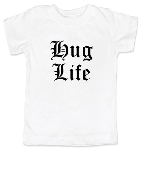 Hug Life toddler shirt, white