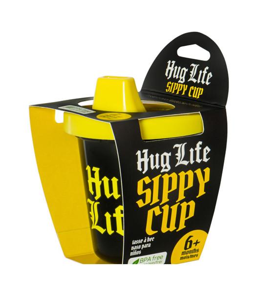 hug life sippy cup, hug life baby gift, thug life baby, thug life toddler, hug life gift set, hip hop baby gift, gangster baby gift, gangsta toddler, hug life gift box