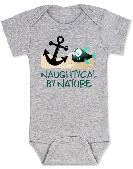Naughtycal by nature gift box, nautical baby gift set, naughty by nature baby, Nautical baby shower, ocean baby gift, crochet shark hat, shark baby hat, ocean lover parents, grey baby onesie