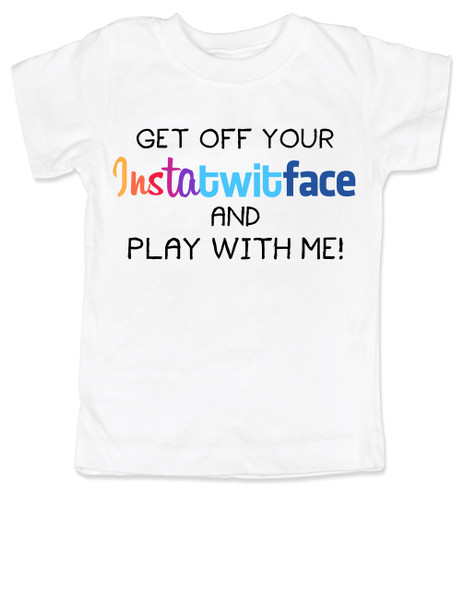 Instatwitface, facebook kids, instagram kids, twitter kids, hashtag toddler shirt, social media parents, instatwittface, funny social media toddler gift, insta baby, facebook parents, technology parents, pinterest parents, instatwitface toddler tshirt
