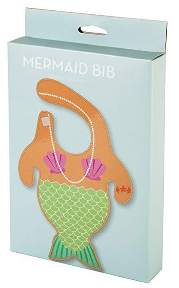 Mermaid baby bib, funny mermaid bib, mermaid body baby bib, baby mermaid, under the sea baby gift, novelty baby girl gift, little mermaid baby bib, merbaby bib, cool baby gift for girl, merbaby gift, mermaid bib in box