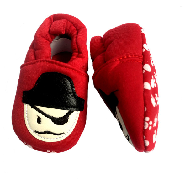 Pirate baby shoes, Nautical baby, ocean baby, little scallywag, pirate baby booty, cool baby shoes, badass baby shoes, Pirate shoes, grippy soles baby shoes