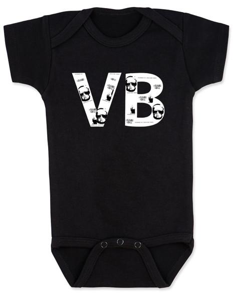 VB Logo Letters Baby Bodysuit