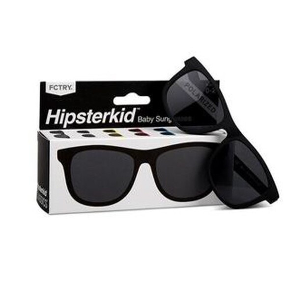 Hipster classics black sunglasses, toddler sunglasses, kids sunglasses, black sunglasses, retro kids sunglasses, cool kids sunglasses front with box