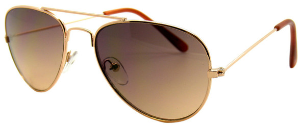 gold kids aviator sunglasses, vulgar baby sunglasses, toddler aviator sunglasses, cool kid sunglasses, official vulgar baby glasses, Gold metal aviator childrens sunglasses, toddler pilot aviator glasses, cool sunglasses for toddlers, gold aviator sunglasses for kids, side view