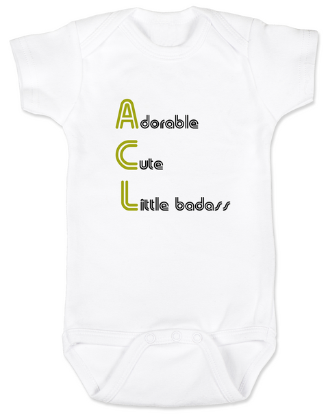 ACL Festival baby Bodysuit, Austin City Limits Music Festival, Baby's first concert, rock and roll baby, Austin music scene baby Bodysuit, Baby gift for Musician parents