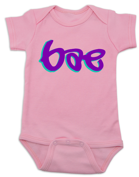Bae Bodysuit, bae baby onsie, too lazy to say baby, mommy's little bae, daddy's bae, pink
