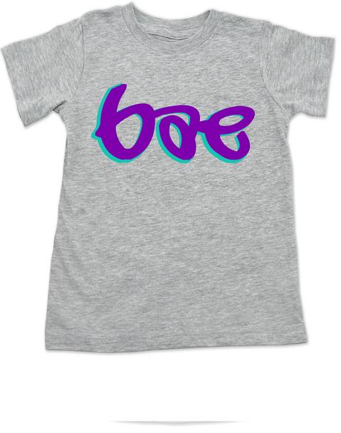 Bae toddler shirt, bae toddler t-shirt, mommy's little bae, daddy's bae, grey