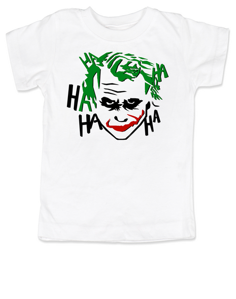 The Joker toddler shirt, Joker Halloween toddler t-shirt, batman joker toddler shirt, batman villain toddler shirt