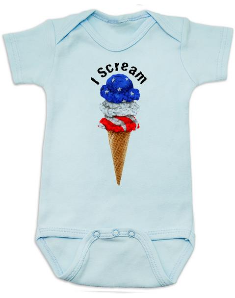 red white blue ice cream Bodysuit blueamerican flag Bodysuit bluepatriotic Bodysuit blueamerica baby Bodysuit blueamerican flag Baby bodysuit blueUnique patriotic baby clothing